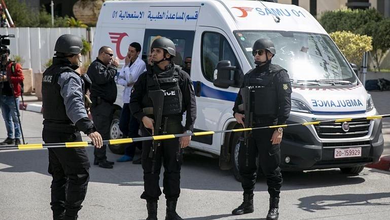 forces tunisiennes cinq terroristes