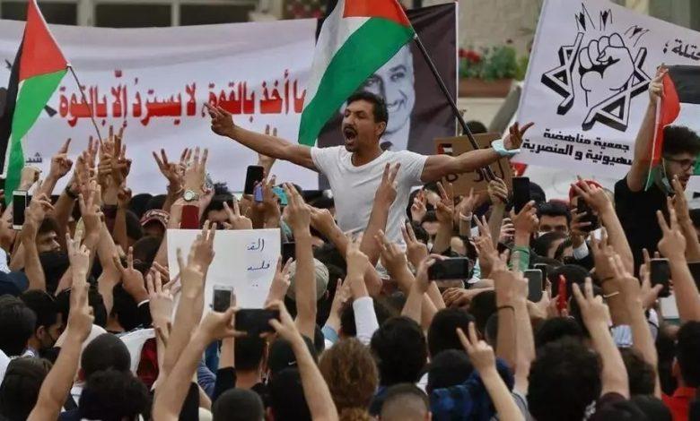 تظاهرات الاردن