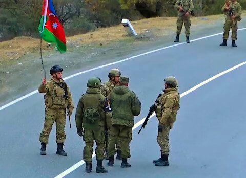 Arménie l'armée azerbaïdjanaise