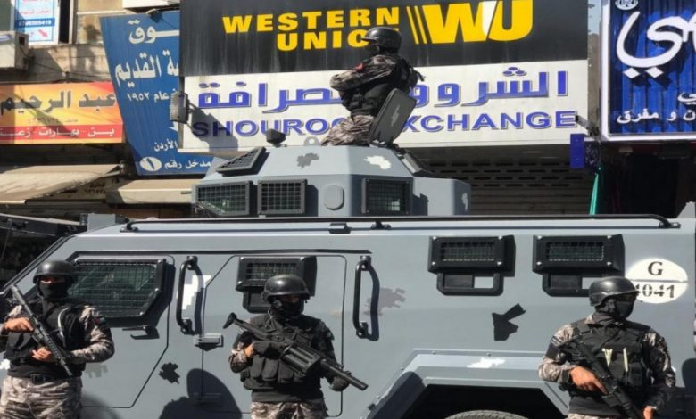 قوات الأمن الأردني