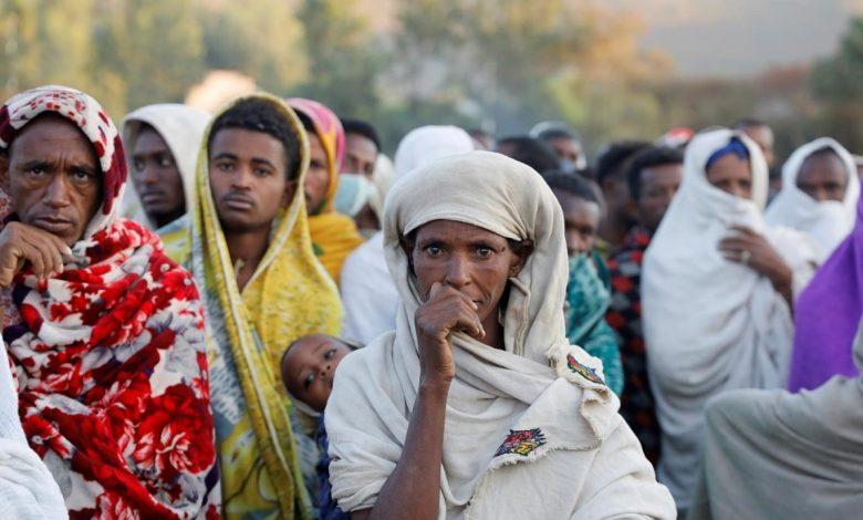 المجاعة في إقليم تيغراي