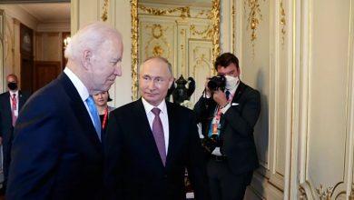 القمة الروسية الأمريكية في جنيف