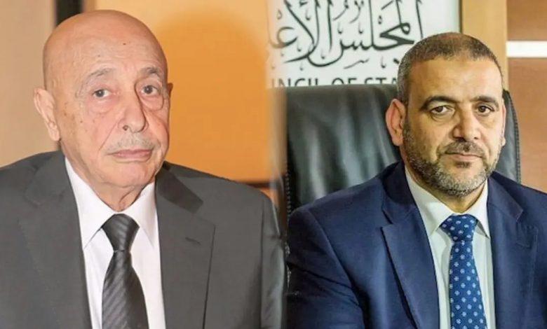 عقيلة صالح - خالد المشري
