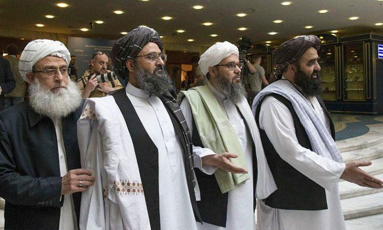 Le gouvernement afghan et les taliban