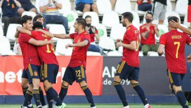 L'équipe d'Espagne