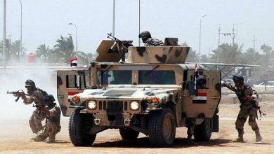 Les forces égyptiennes