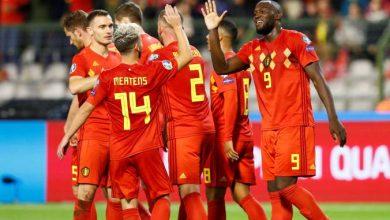 Les joueurs belges